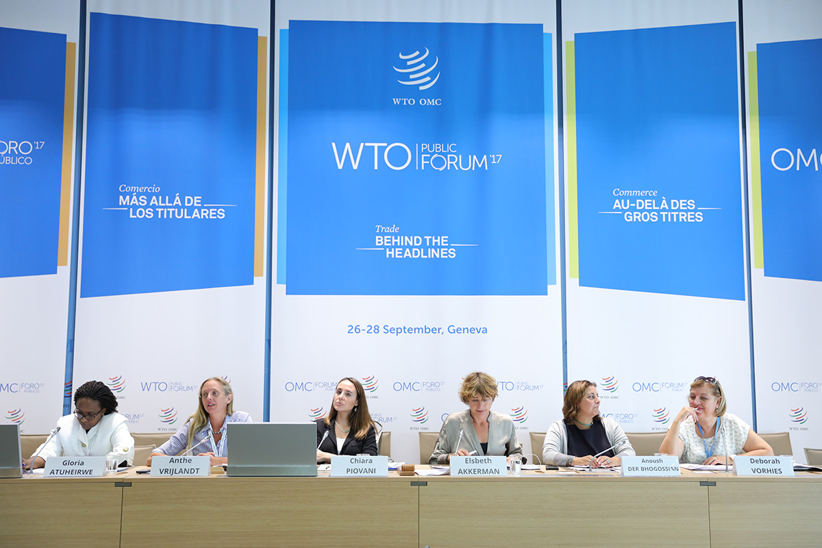 WTO Public Forum 2017: Role of trade key in achieving UN Sustainable