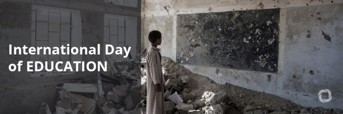 International Day of Education: UNESCO GEM Report shows insufficient progress on including migrants and refugees in national education systems