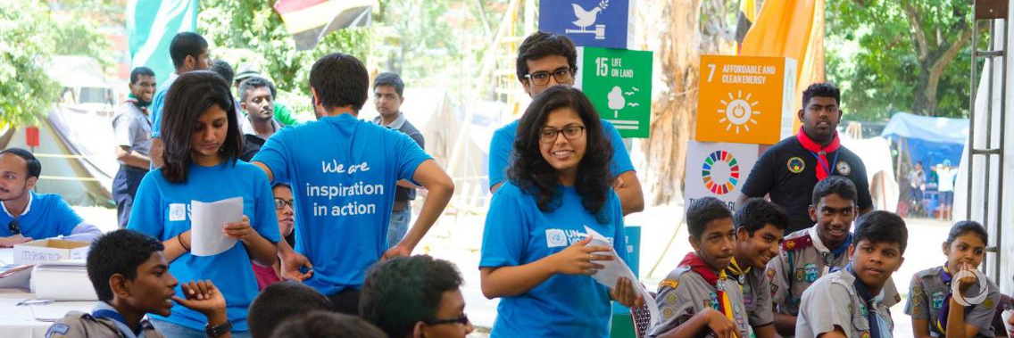 UN Volunteers improve the access of youth to education in