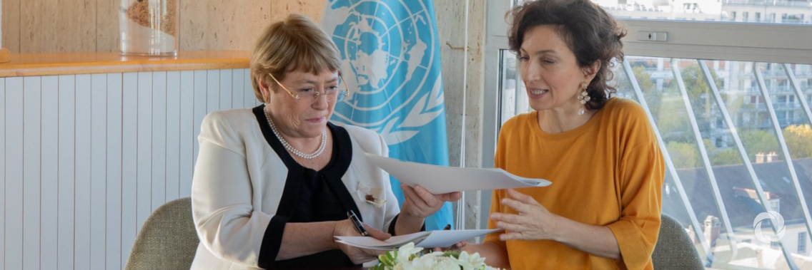 UNESCO and OHCHR strengthen cooperation to advance human
